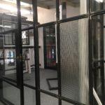 Cross Reeded Glass London