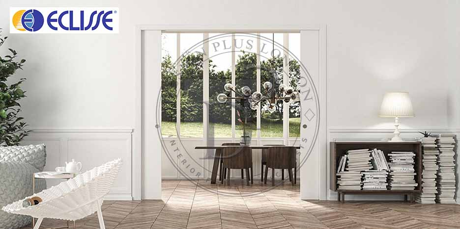 Eclisse Double Pocket Door Design Plus London