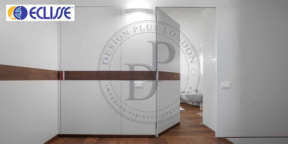 Eclisse Flush Hinge Pocket door Design Plus London