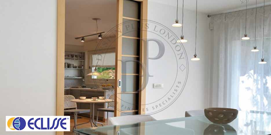 Eclisse Single Pocket Door Design Plus London