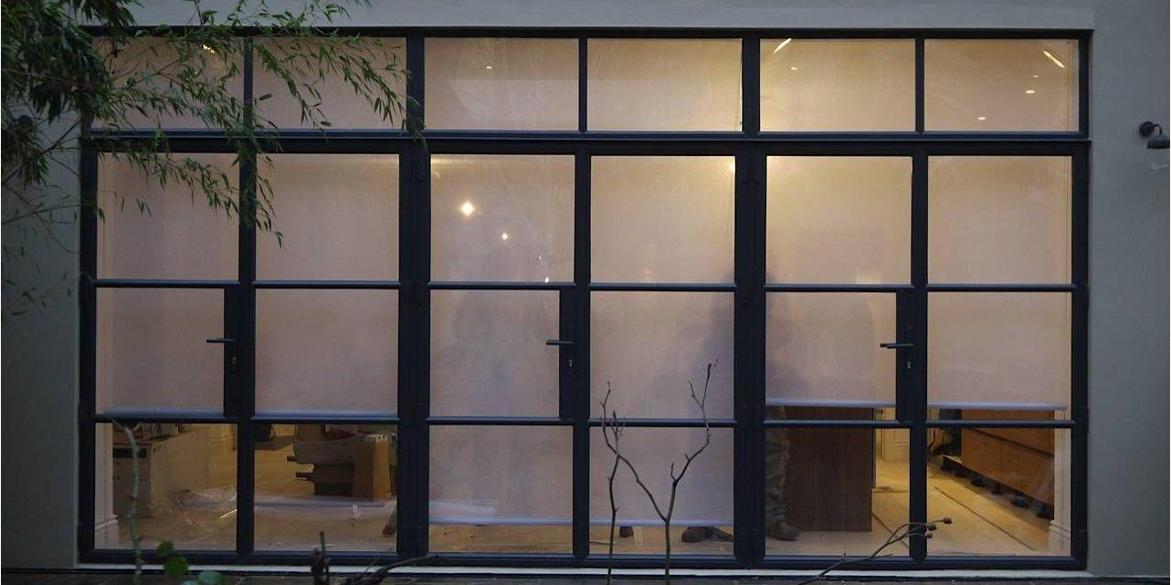 W20 Steel Metal Windows and Doors Crittall style Design Plus London