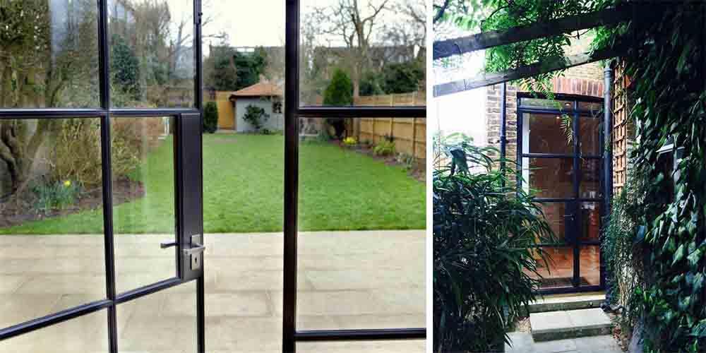Steel Metal Windows and Doors Design Plus London