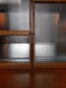 Reeded Cross Reed glass Design Plus London Pattern Glass