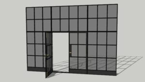W20 profile Steel windows and Doors Metal Crittall Style Design Plus London