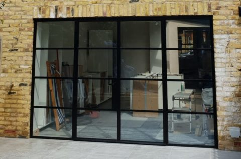 Design Plus London Steel W20 External Doors