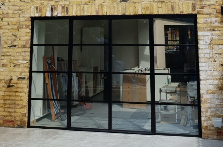Design Plus London Steel W20 External Doors
