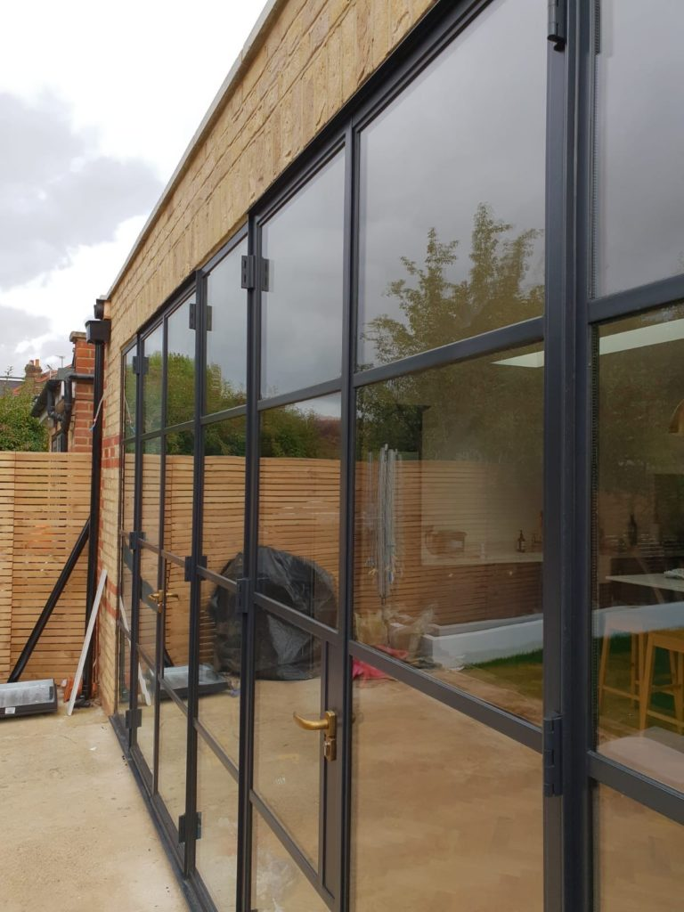 External Black Steel Doors UK and London