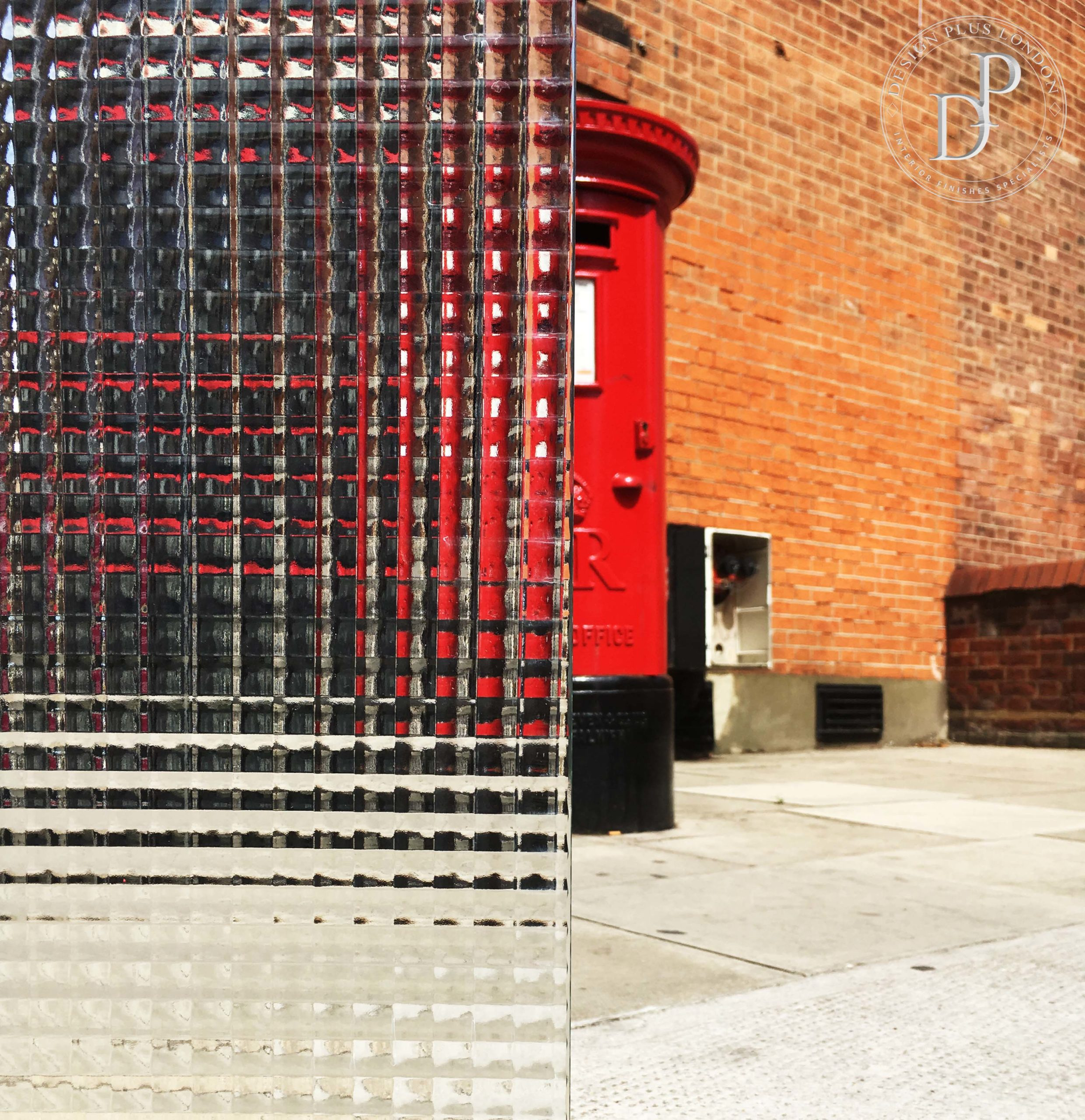 Cross Reed Glass Design Plus London Criss Cross