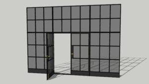 W20 profile Steel windows and Doors Metal Design Plus London