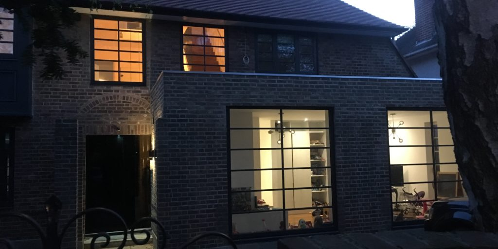 Metal Steel Windows and Doors Crittall Style W20 Profile Design Plus London