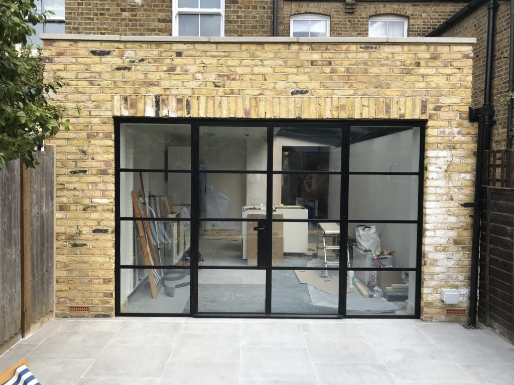 External W20 Black Steel Doors Design Plus London 3