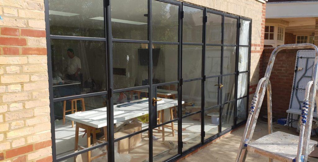 Industrial steel doors Design Plus London 1