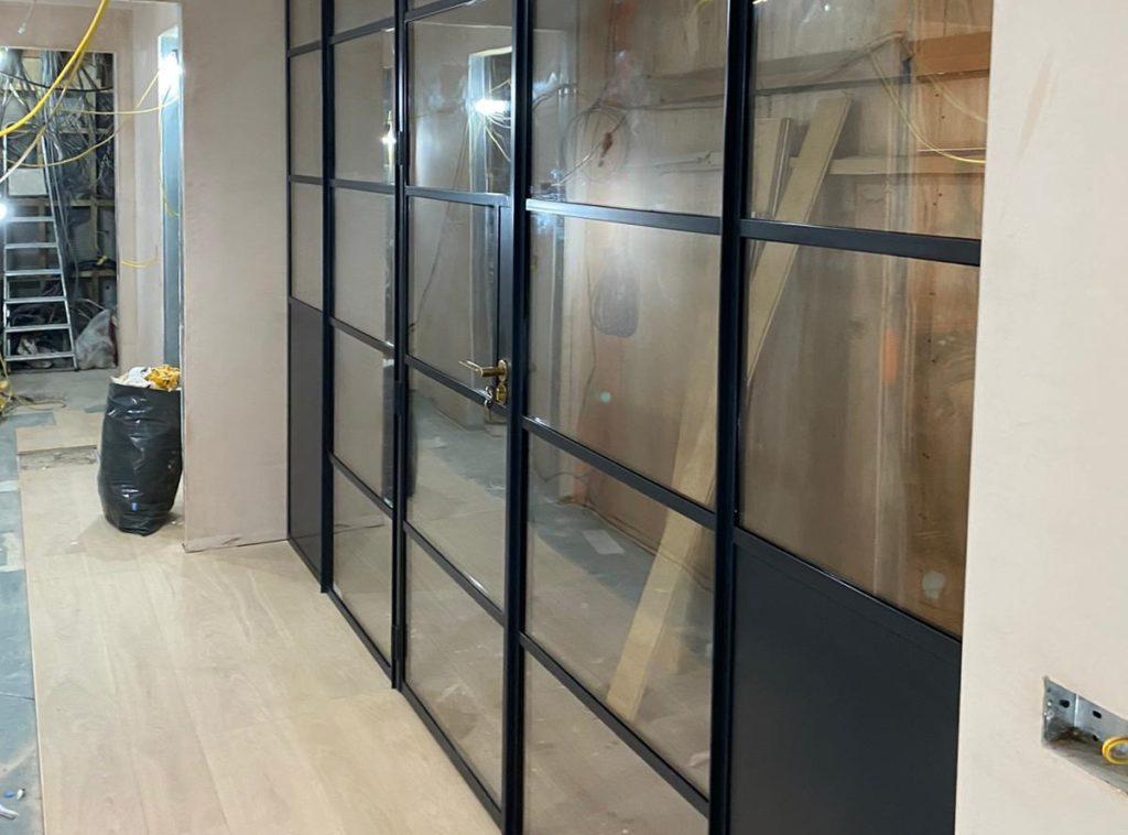 Internal Steel doors for wine cellar Design Plus 3