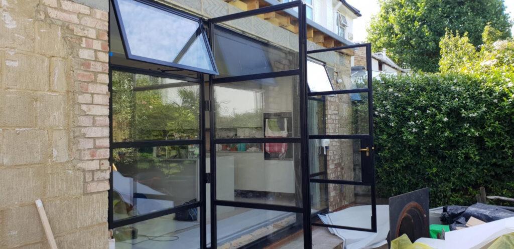 Original Steel 2 Doors and Windows Design Plus 011