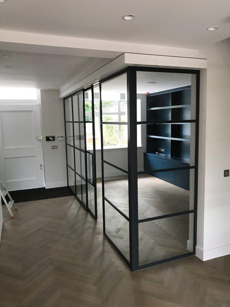 Original Steel Sliding Door and Partition Design Plus London 3