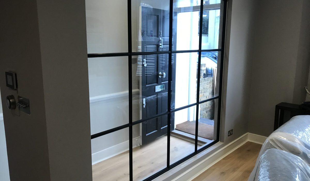 Internal Black Steel Partition Design Plus 10